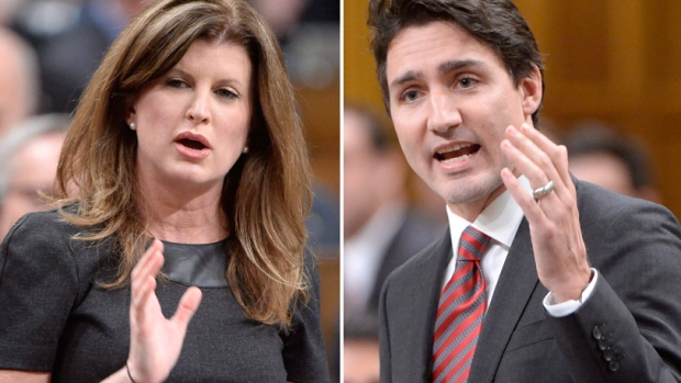 opposition-leader-rona-ambrose-and-prime-minister-justin-trudeau