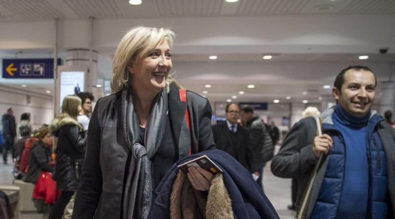 Marine Le Pen montreal