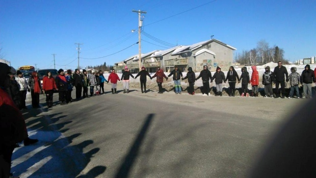 suicide-prevention-walk-pimicikamak-cree-nation