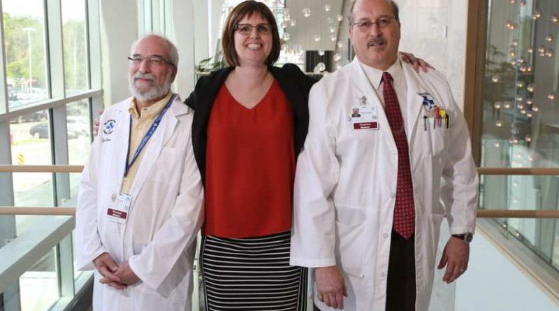 dr-harry-atkins-jennifer-molson-and-dr-mark-freedman-pose