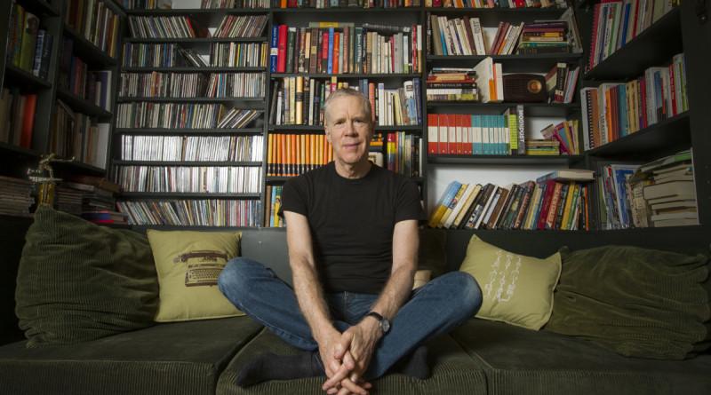 "EN-BIGINT-MCLEAN6 TORONTO, ON - NOVEMBER 17  -   ""Vinyl Cafe: star Stuart McLean, in his home, for Big Interview coming. Ouzounian profile.. November 17, 2013. Bernard Weil/Toronto Star"