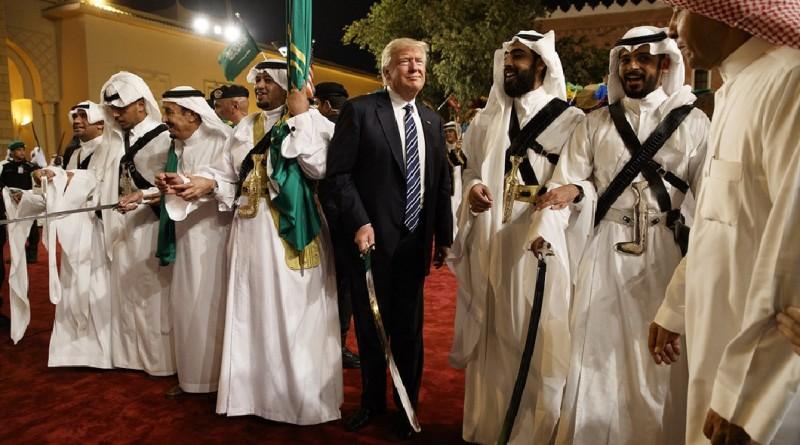 trump dance saudi