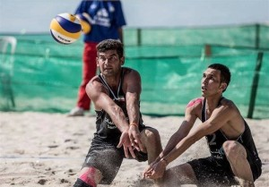 iran volleyball beach