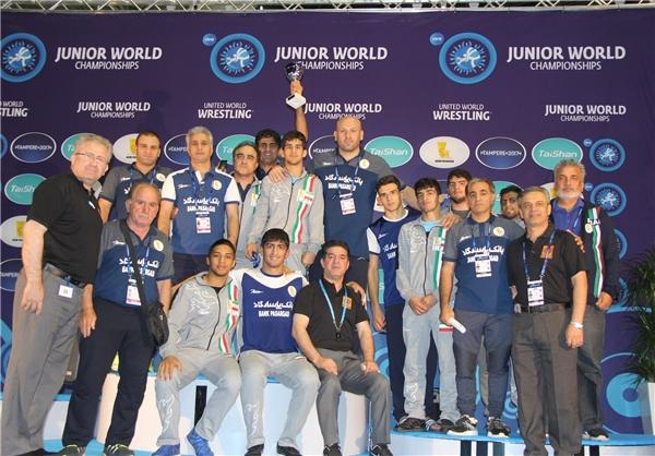 Iran youth wresting team