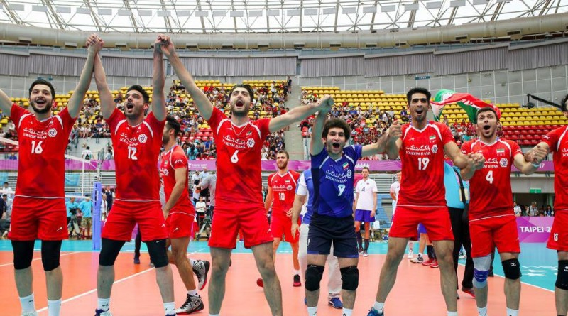iran student volleyball team