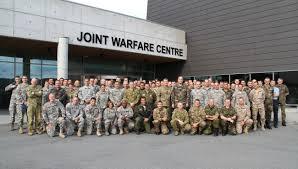 The Joint Warfare Centre is Stavanger, 300 kilometres southwest of Oslo.