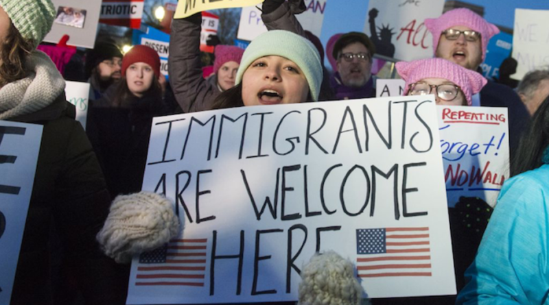 immigrants-are-welcome-here-protest-sign