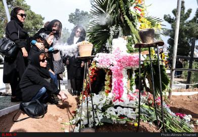 مراسم خاک سپاری لوان هفتوان ا  Levon Haftvan Funeral in Tehran