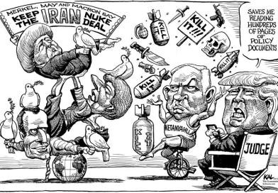 ترامپ ، انتخاب بین ناتینیاهو از یک سو و انگلیس وفرانسه  از سوی دیگر    Trump Iran Deal