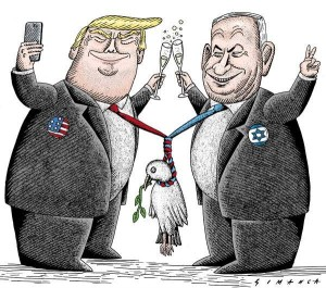 netanyahu trump killing peace