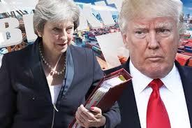 سخنان دوگانه ترامپ در مورد برگزیت ظرف چند ساعت  Trump two different comments on Brexit in Few hours