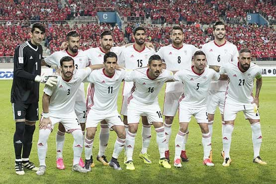 iran footba team