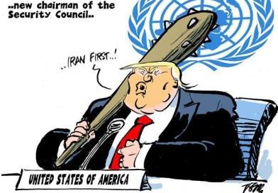 ترامپ ریاست مجمع عمومی سازمان ملل را به عهده داشت .   Trump New UN assembly chair
