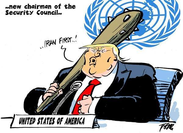 trump un chair