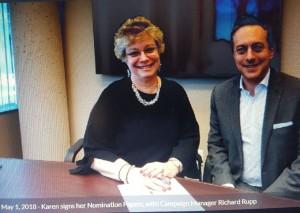 Karen Cilevitz and richard