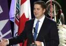 نسخه رهبر حزب محافظه کار کانادا را دارند می پیجند